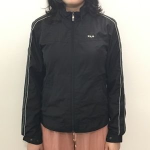 Fila Korean Sporty Black Jacket
